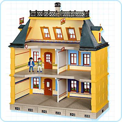 Juguetes de mi infancia v playmobil mamma testa for Mansion de playmobil