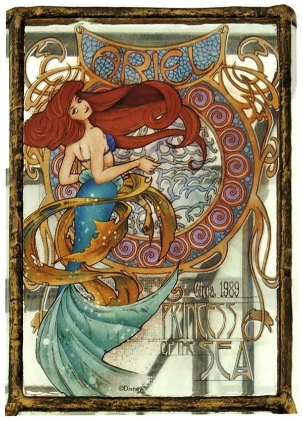 art-nouveau-disney-princesses-jasmine-ariel-snow-white-4-mermaid