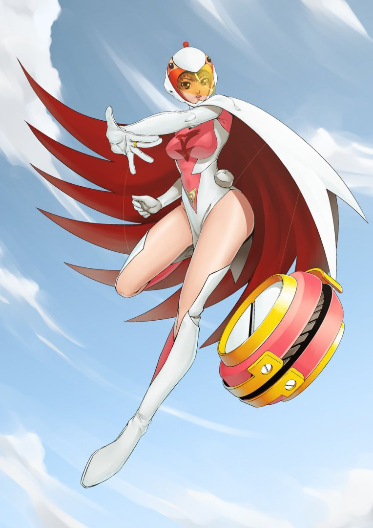 Gatchaman_Jun_by_henry26