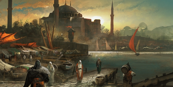 assassin-amp-39-s-creed-revelations-constantinople-port-market-ezio-a-city